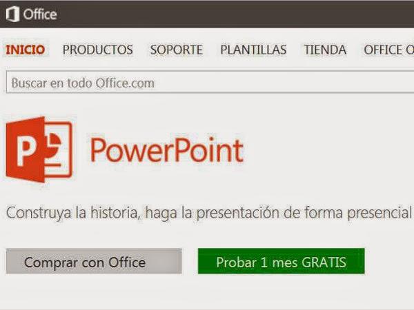 Herramienta para crear presentaciones - PowerPoint