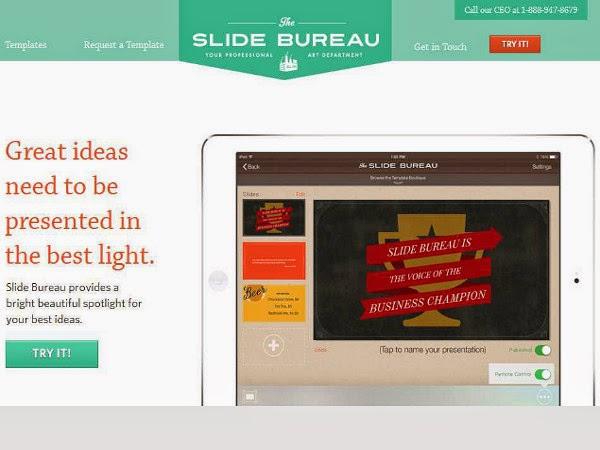 Herramienta para crear presentaciones - Slide Bureau