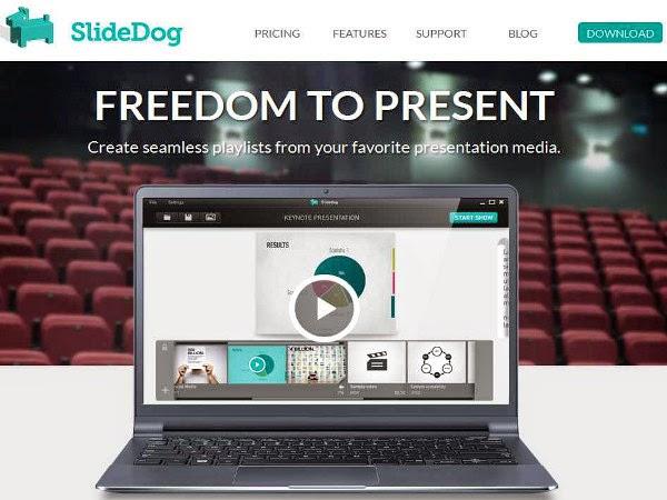 Herramienta para crear presentaciones - SlideDog