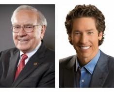 Warren Buffett y Joel Osteen superaron su miedo a hablar en público