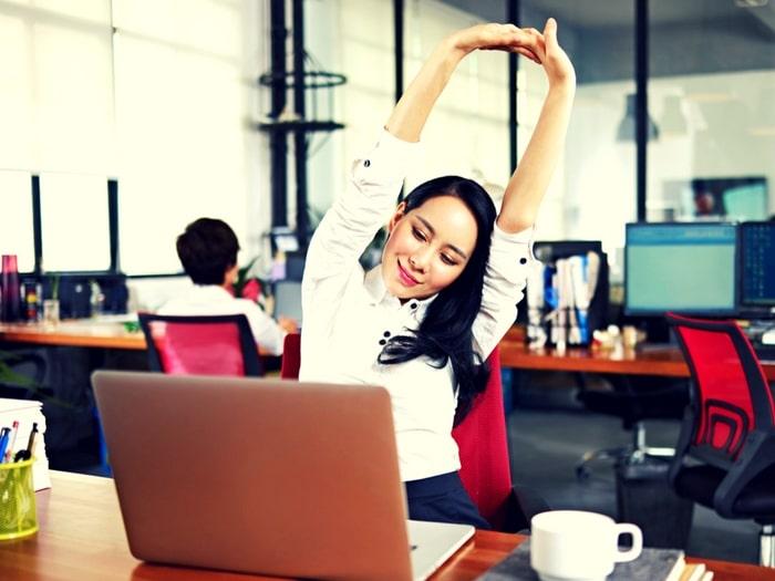 ser positivo en el trabajo