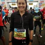 Bárbara Navarro Maratón Tokio, Febrero 2015