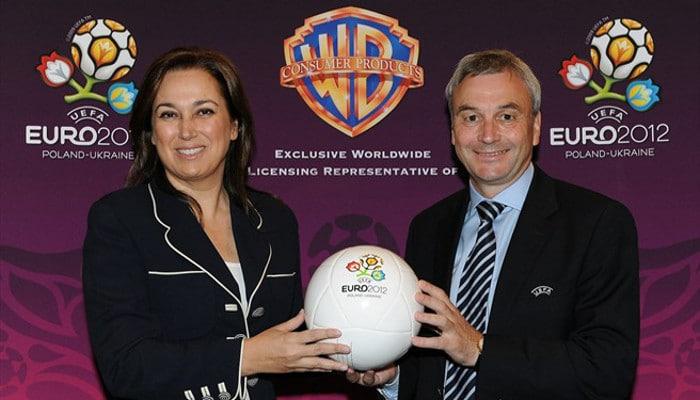 Pilar Zulueta, Warner Bross - UEFA