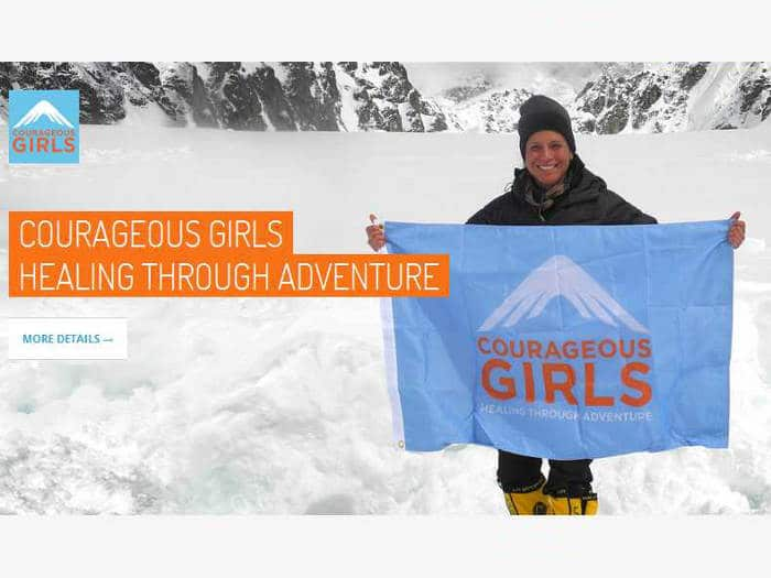 Silvia Vásquez-Lavado, fundadora de la ONG Courageous Girls
