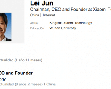 Lei Jun CEO de Xiaomi Tech