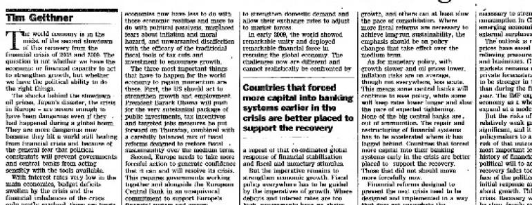 Recetas de los economistas para salir de la crisis económica mundial