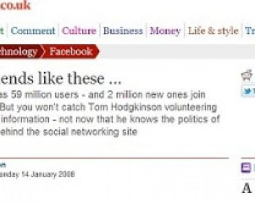 La ideología de las redes sociales
