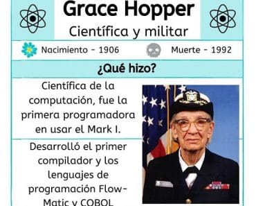 Breve historia de Grace Hopper