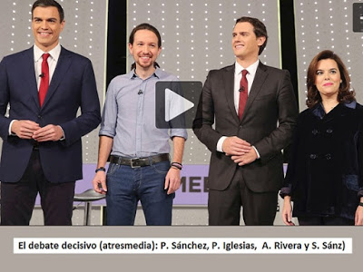 Acceso al Video del Debate Decisivo de Atresmedia