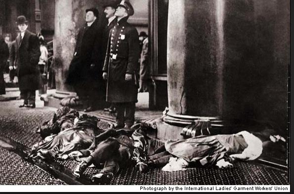 historia día de la mujer, incendio fábrica textil Nueva York