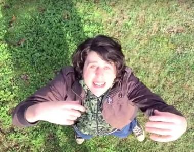 Cómo grabar escenas similares a las de un dron