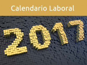 Calendario laboral España 2017