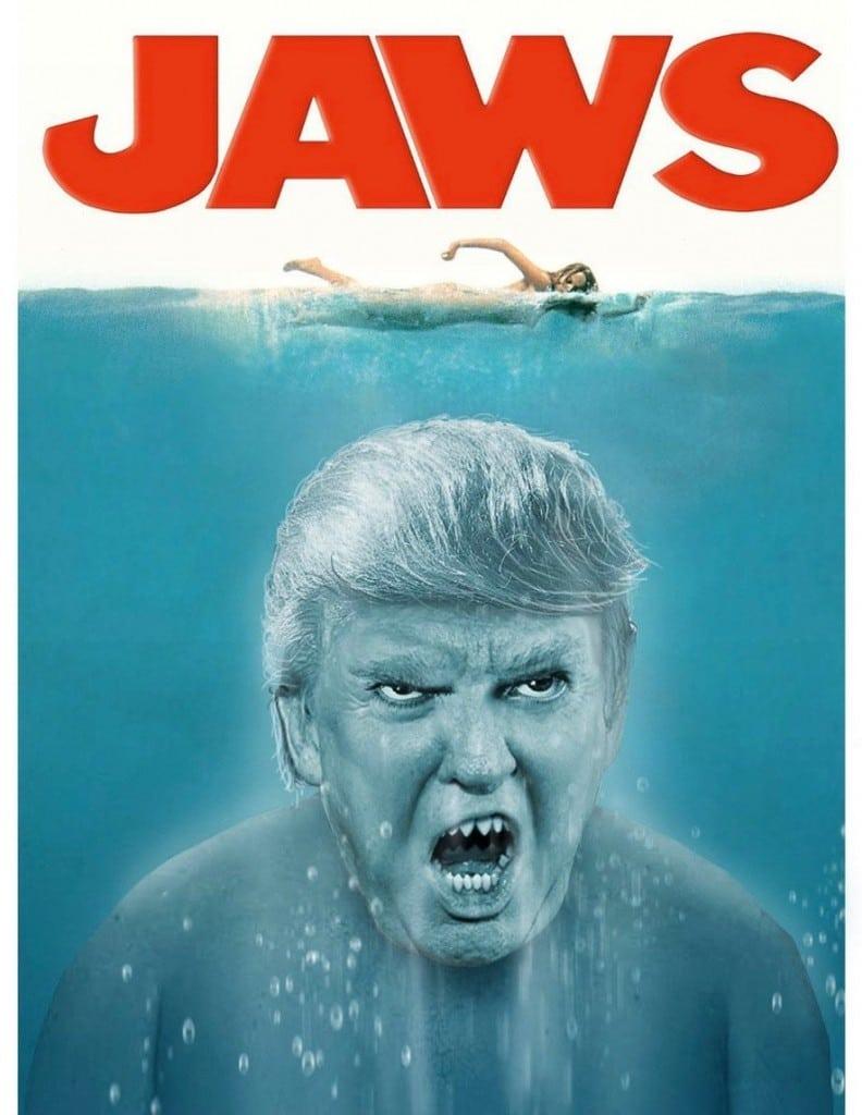 Meme Trump películas terror
