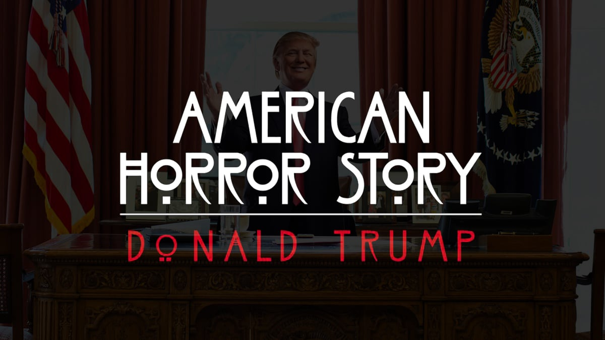 Trump meme american horror story