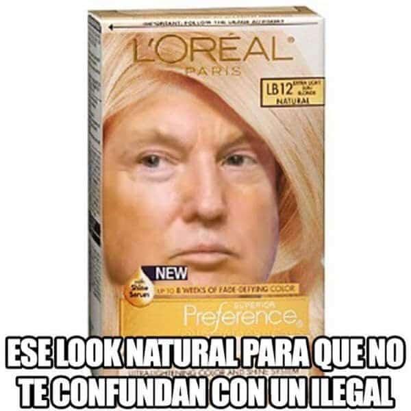 Trump meme Loreal