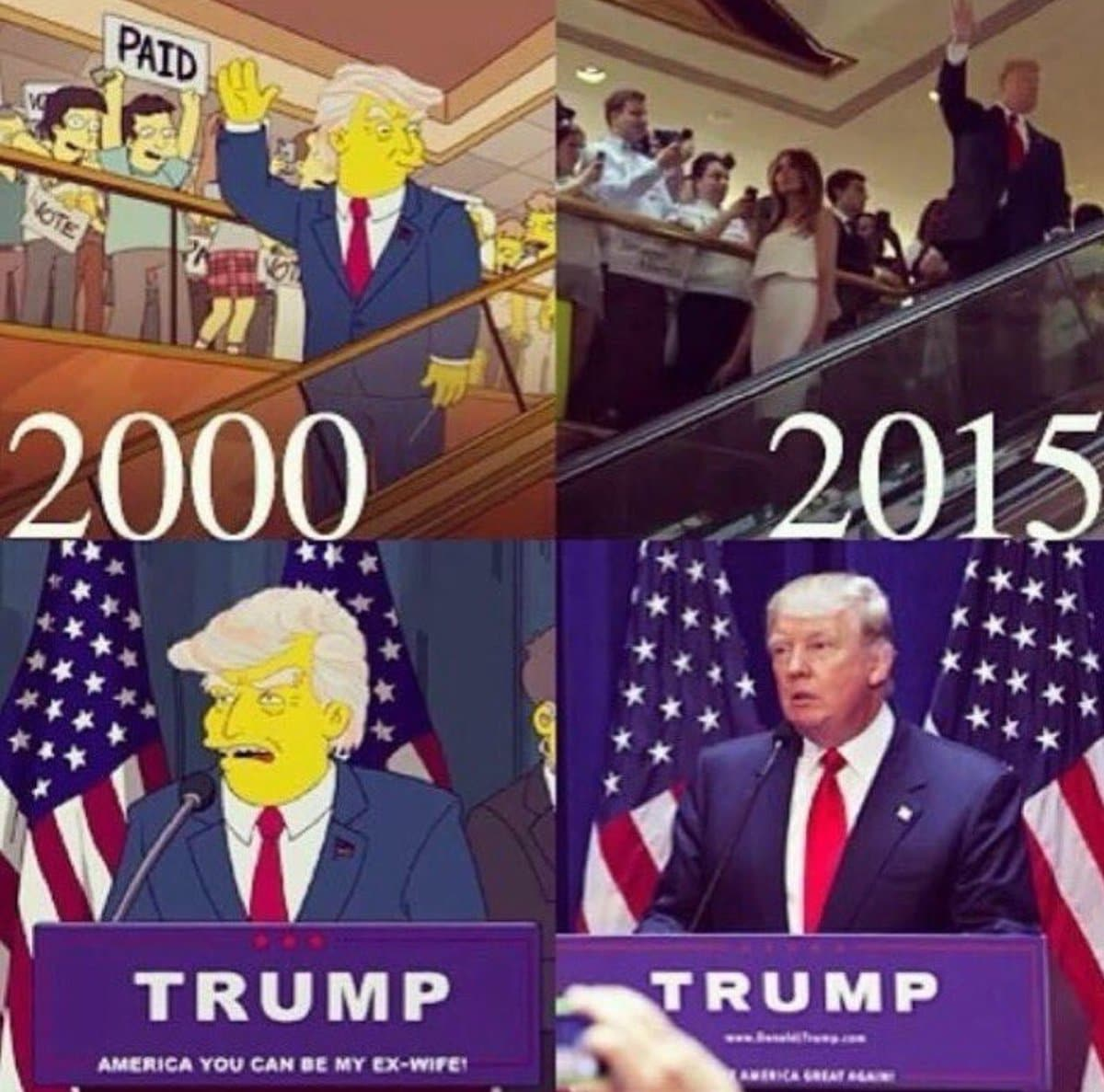 Meme Trump Simpsons
