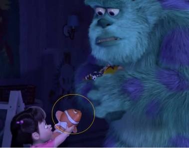 Vídeo conexión películas Pixar