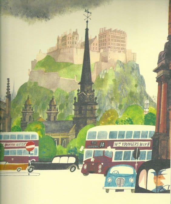 Esto es Edimburgo, Miroslav Sasek