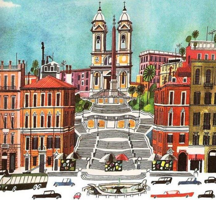 Esto es Roma, Miroslav Sasek