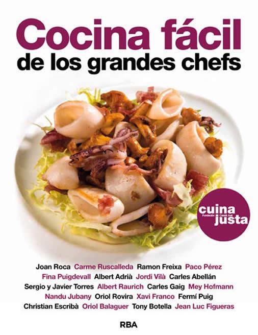 Libros de recetas para regalar: cocina fácil de los grandes chefs