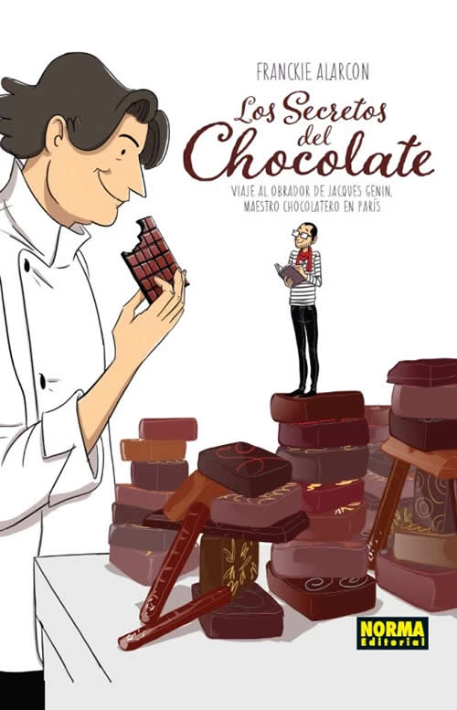 libros de cocina para regalar: el libro del chocolate