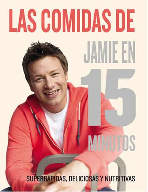 Libros de recetas para regalar: recetas en 15 minutos de Jamie Oliver