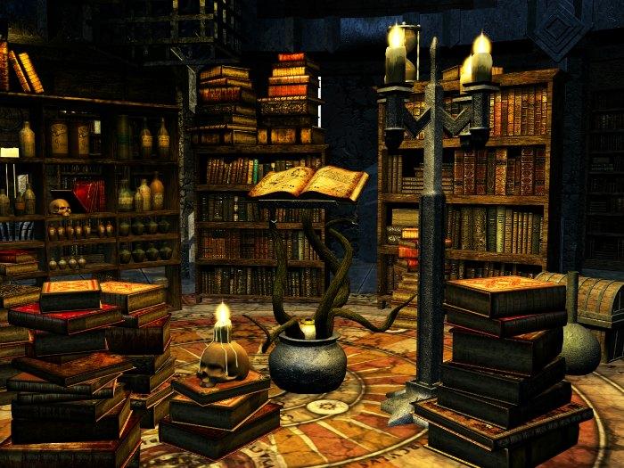 Antigua biblioteca y centro de estudios Esotéricos