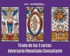 Tirada de las 3 cartas: Adversario/Resultado/Consultante