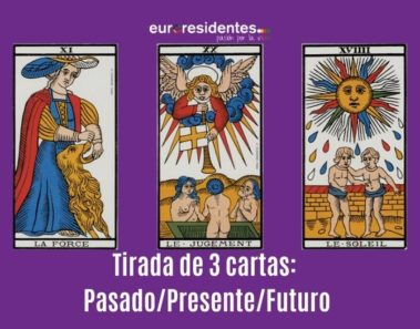 Tirada de las 3 cartas: Pasado / Presente / Futuro