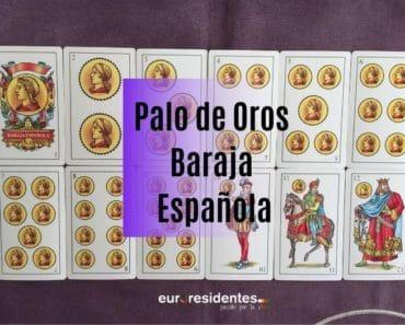 Baraja Española: Palo de Oros