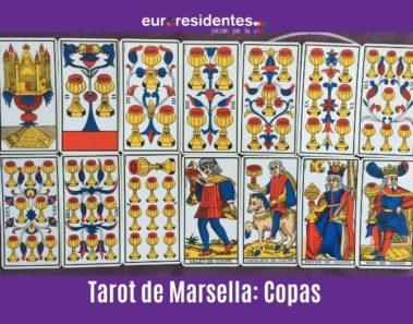 Arcanos Menores Tarot Marsella: Copas