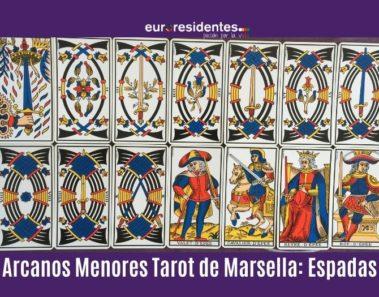 Arcanos Menores Tarot Marsella: Espadas