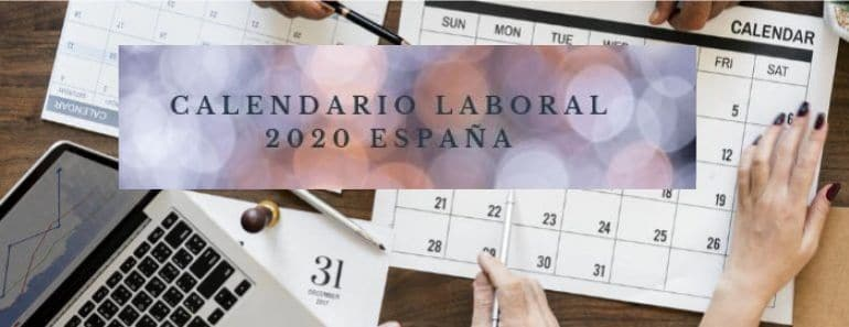 Calendario Laboral 2020 Madrid Capital.Calendario Laboral 2020 Espana