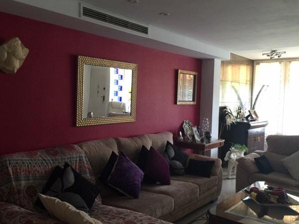 salón, sofá, decoración Feng Shui