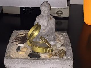 jardín Zen, jardín japonés, altar