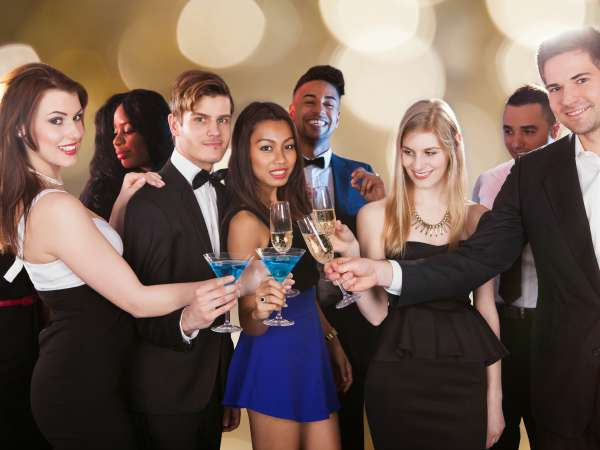 vida social, fiesta