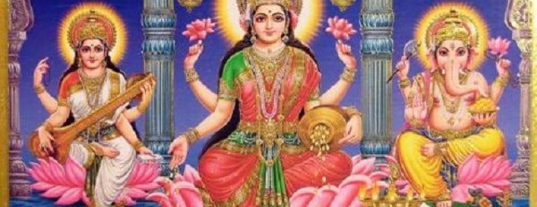 Lakshmi diosa indú de la riqueza, abundancia, prosperidad...