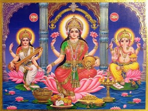 Lakshmi  diosa de la belleza indú