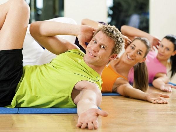 gimnasio, hacer ejercicio