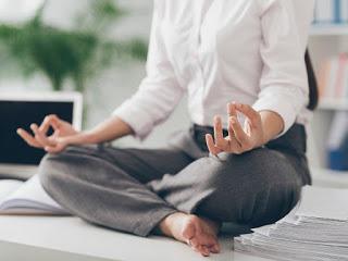 Yoga, postura Flor de Loto