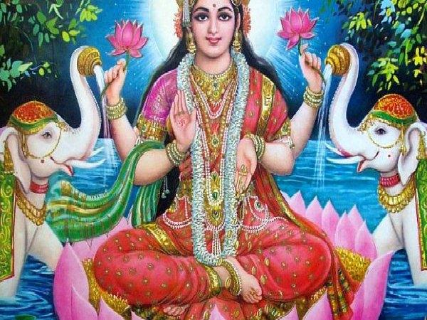 diosa hindú Lakshimi