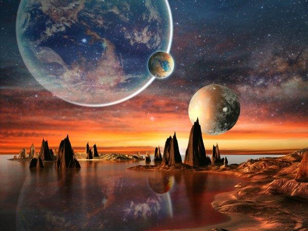 la creación de La Tierra