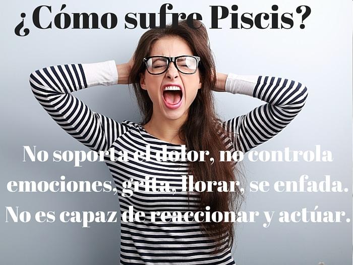 ¿Cómo sufre Piscis?
