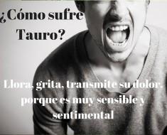 ¿Cómo sufre Tauro?