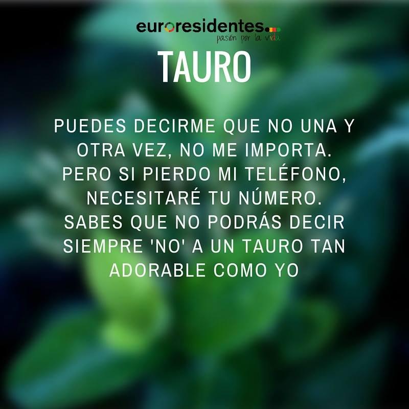 Horóscopo sincero de Tauro