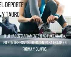 TAURO Y EL DEPORTE