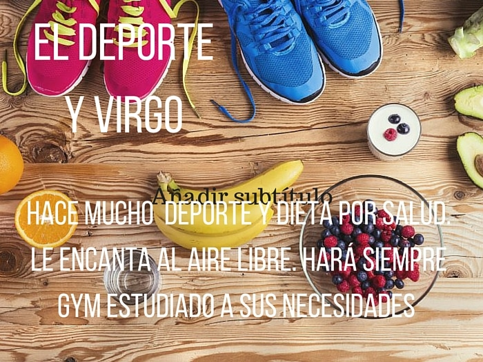 Virgo y el Deporte