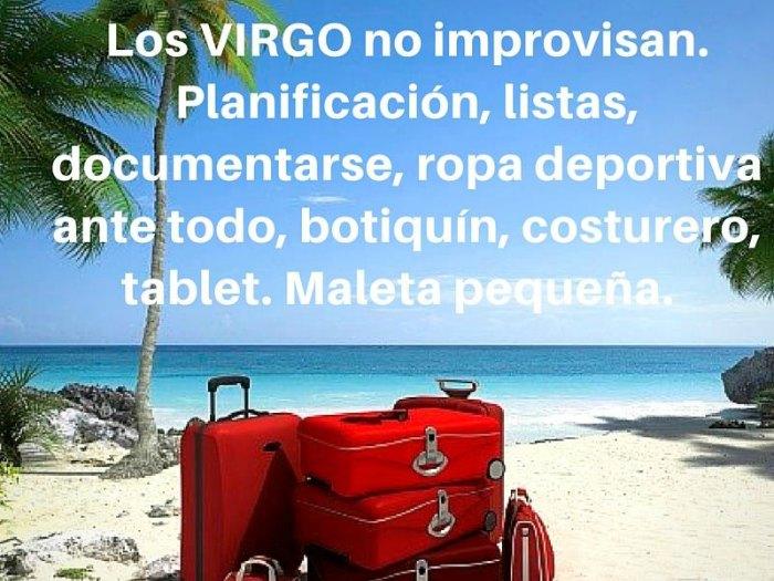 La maleta de Virgo