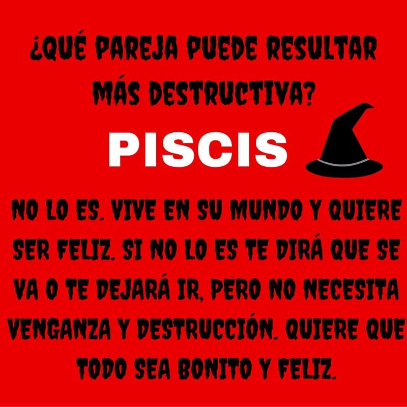 ¿Sería Piscis una pareja destructiva?