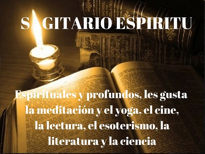 Sagitario y lo espiritual
